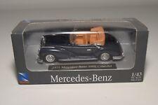 F NEWRAY NEW-RAY MERCEDES BENZ 300S 300 S 1955 CABRIOLET DARK BLUE MINT BOXED