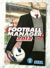 54526 Instruction Booklet - Football Manager 2012 [French] - PC (2011)