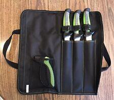 Mustad MT102 Knife Kit - GREEN - 2 Fillet and Boning Knife w/Sharpener and Case