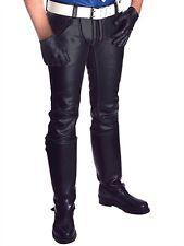Mister B Leather FXXXer Jeans All Black GAY 100 % Leder/Leather