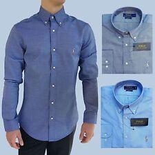 Klassische Ralph Lauren Kurzarm Herrenhemden mit Button-Down-Kragen