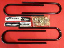 Ford Super Duty F-250 F-350 Pro Comp Suspension U-Bolt Kit 62247