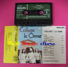 MC LE ORME Collage 1971 italy PHILIPS 7119 009 no cd lp dvd vhs