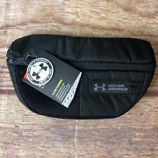 Under Armour Unisex One Size Black Training & Sports Polyester Blend Waist Bag N