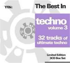 CD The Best In Techno 3 von  Various Artists   3CDs