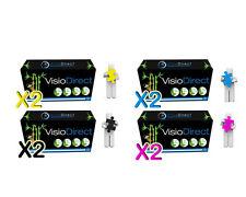 8 Toner cartouche pour HP Color Laserjet 2600 N 2605DN CM1015 124A