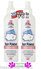 "2-PET PRO GROOMING ""BABY POWDER"" Pump Spray Mist  Spritz COLOGNE PERFUME DOG CAT"