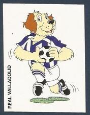 PANINI FUTBOL 93-94 SPANISH -#327-REAL VALLADOLID-CARTOON DOG
