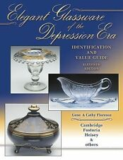 Elegant Glassware Of The Depression Era: Identification and Value Guide by Gene