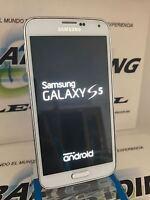 TELEFONO SAMSUNG GALAXY S5 G900F BLANCO GRADO A 32GB 100% FUNCIONAL