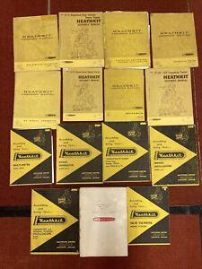 Vintage Heathkit Manuals Job Lot