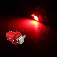 5/10PCS 12V T5 B8.4D 5050 Epistar 1SMD LED Instrument Cluster Side Light Bulbs