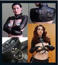 camicia di forza a seno scoperto costrittivo slave sex toy bondage sm gioco