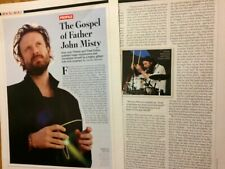 Josh Tillman, Father John Misty, Two Page Clipping