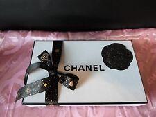 Original Chanel Boite Cadeau/Boîte de papier de soie, trentenaire U. bande NOUVEAU!