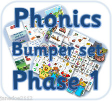 LETTERS AND SOUNDS PHASE 1 Phonics Bulk Pack EYFS teaching resources CD