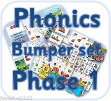 Lettere e suoni Phase 1 Phonics BULK PACK eyfs risorse di insegnamento CD