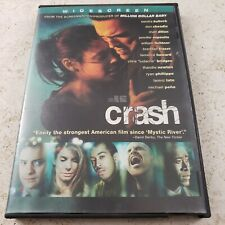 Crash (Dvd, 2004, Widescreen Edition) Movie Used Condition Free Shipping