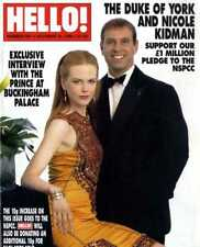 HELLO MAGAZINE #581 DUKE OF YORK & NICOLE KIDMAN, KIRSTY YOUNG & NICK JONES