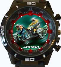 Reloj de Pulsera Moto CROSS ciclistas de carreras Nueva Serie GT Deportes Unisex Regalo Vendedor de Reino Unido