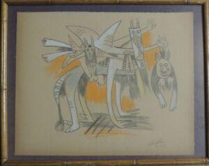 WIFREDO LAM (1902-1982) Drawing