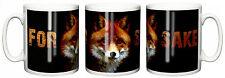 """Funny Mug """"For Fox Sake"""" Cup Birthday Christmas Gift Stocking Filler"""