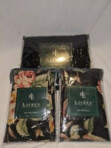 Lot of 3 New Lauren Ralph Lauren Sham