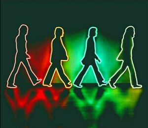 The Beatles Abbey Road LED Neon Sign Light Lamp Art Custom Made UK