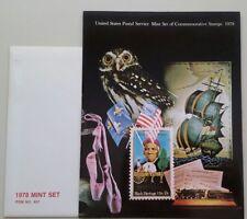 1978 Comm Souvenir Mint Set in Original Folder AND Envelope