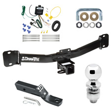 """Trailer Tow Hitch For 04-10 BMW X3 Complete Package w/ Wiring & 2"""" Ball"""