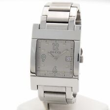 Gucci Stainless Steel Square Face Watch Ref 3ATM
