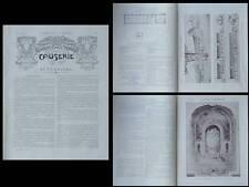 LA CONSTRUCTION MODERNE n°23 1906- LYON, TONY GARNIER, VACHERIE, GREBER, TOURNON