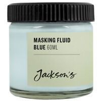 Jackson's Original Artists Masking Fluid 60ml Jar for Watercolour Painting