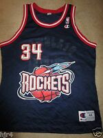 Hakeem Olajuwon #34 Houston Rockets NBA Champion Jersey 44