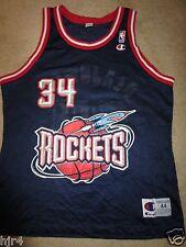 Hakeem Olajuwon #34 Houston Rockets NBA Champion Jersey 44
