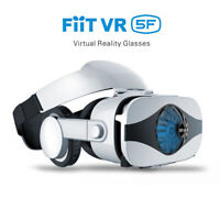Fiit 5F Fan cooling Virtual Reality 3D VR Glasses Box Headset For 6.3 Smartphone