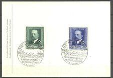 Nobelpreis, Behring - DR - Karte 1940