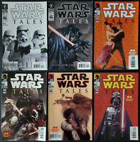 Lot of 6 Star Wars Tales #10 12 15 16A 16B 17 Avg VF See Listing
