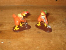 1999 DREAMWORKS collectible GINGER x 2 giocare cifre POLLO Run aardman PATHE