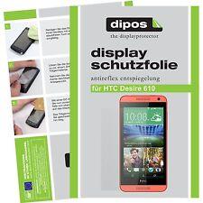 1x dipos HTC Desire 610 screen protector protection guard anti glare