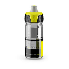 Elite Crystal Ombra Bike Cycling Squeezable Water Bottle 550ml - Yellow