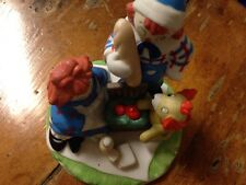 "Flambro Raggedy Ann/Andy Figurines Pic-Nic ""No Ants"""