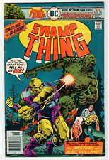 DC - SWAMP THING #24 - Pages Folded Backwards - VG Sept 1976 Vintage Comic