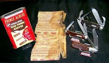 Ulster Old Timer Knife Set & Prince Albert Offer W/Tin, 114OT, 58OT, 10OT Knives