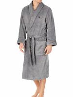 NEW - Tommy Bahama Men's Soft Plush Fleece Robe W/ Pockets