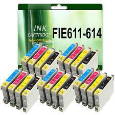 20 INK CARTRIDGES REPLACE FOR EPSON DX3850 DX4200 DX4250 DX4850 DX4800 D68 D88