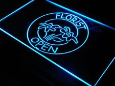 i133-b OPEN Florist Shop Flower Display Neon Light Sign