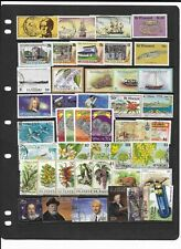 St Vincent - A4 stockcard of stamps - Mint & Used