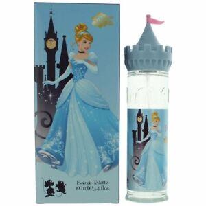 Disney Princess Cinderella Castle 3.4 oz / 100 ml EDT Eau de Toilette for Girls