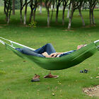 Portable Nylon Hammock Parachute Bed for 1 Person Travel Camping Outdoor LU